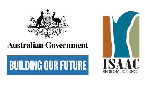 Australian Government logo and IRC logo