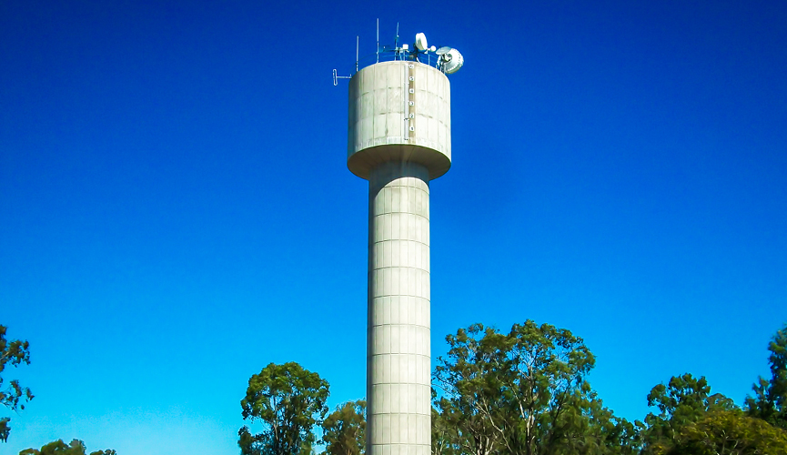 Nebo Water Tower