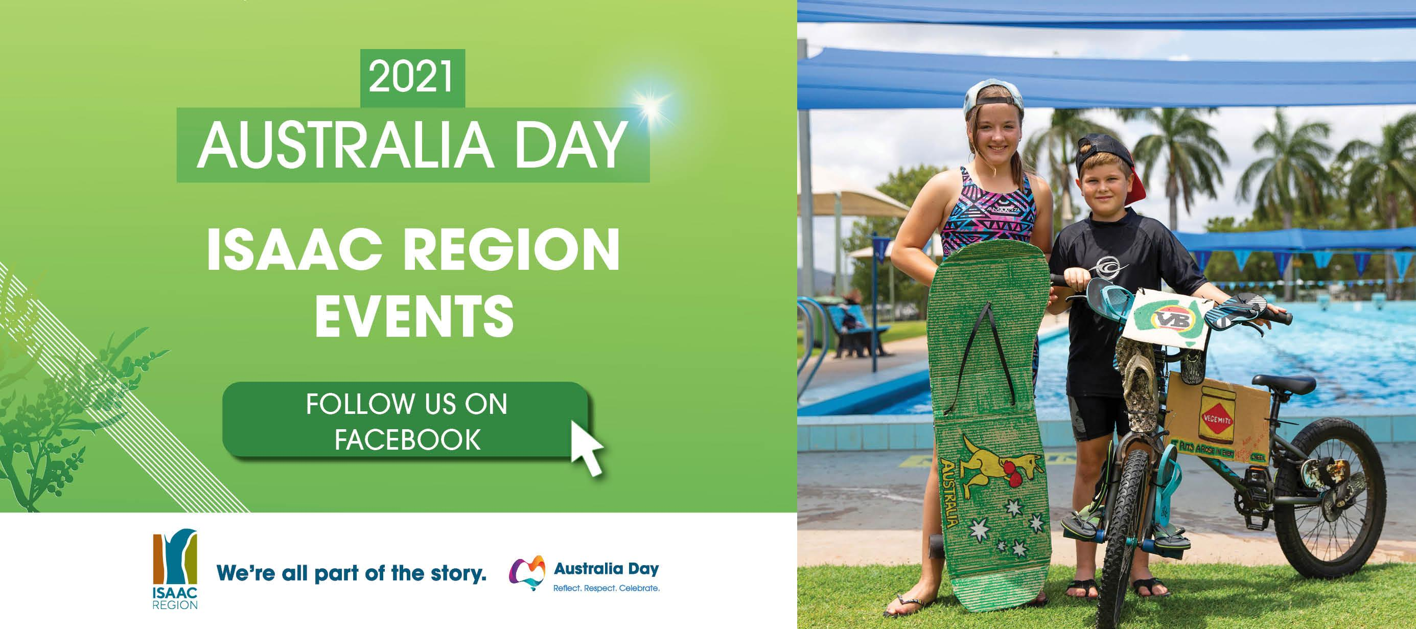 2021 Australia day events web page banner