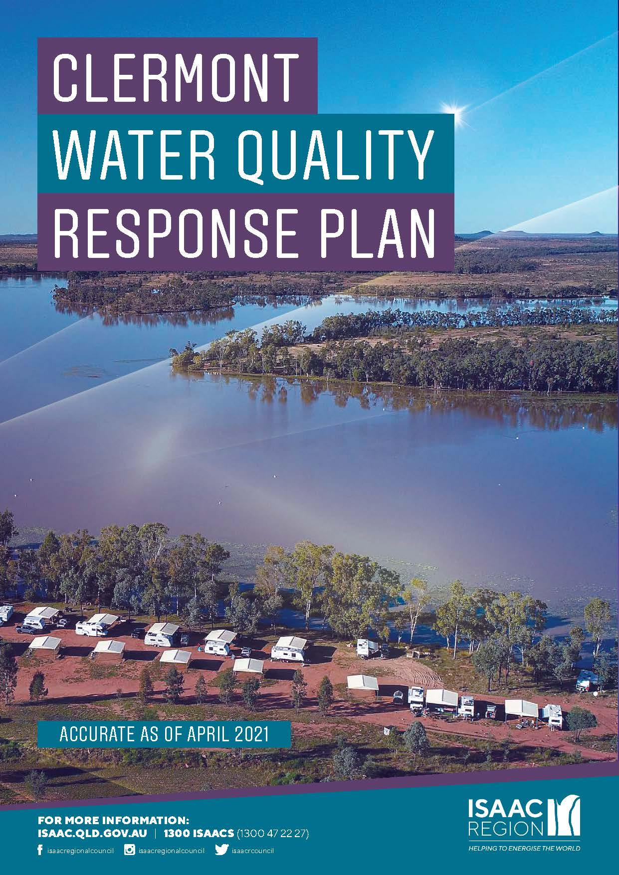 Clermont Water Quality Response Plan - April 2021_cover image