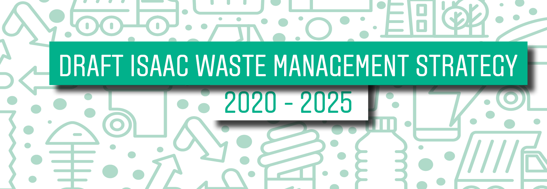 Draft waste plan page banner