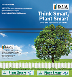 Isaac Regional Council -  plantsmart cover