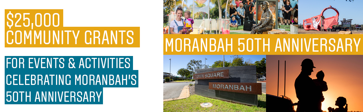 Page banner moranbah 50th grants