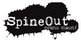 Spine out logo