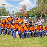The pure people power of isaac regional council staff which help bring the moranbah miners memorial project to life web tn